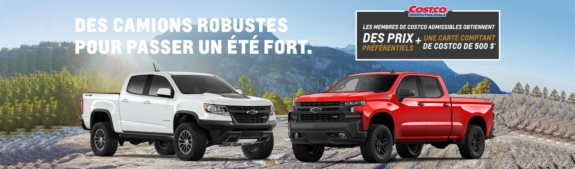 Promotion Chevrolet Truck Juillet