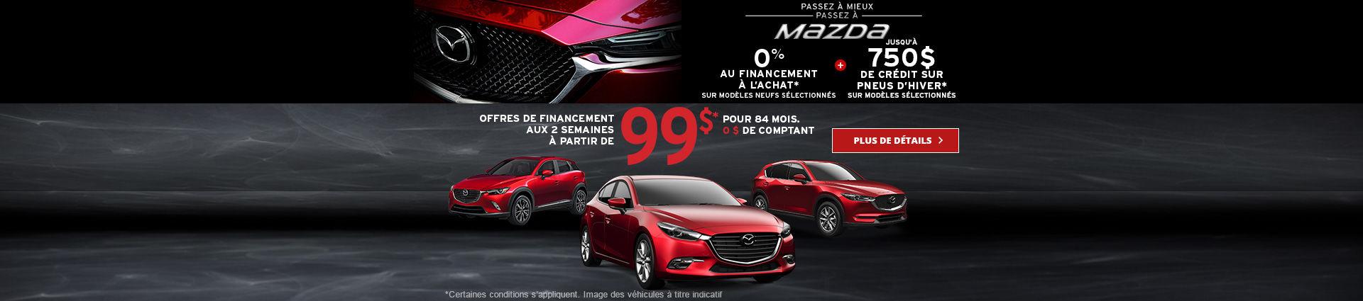 l'Événement Passez à mieux, passez à Mazda