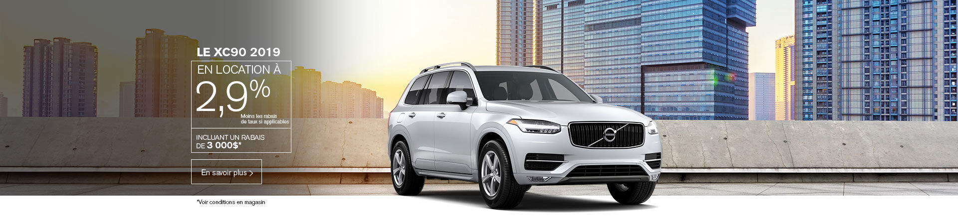 evenement signature volvo xc90