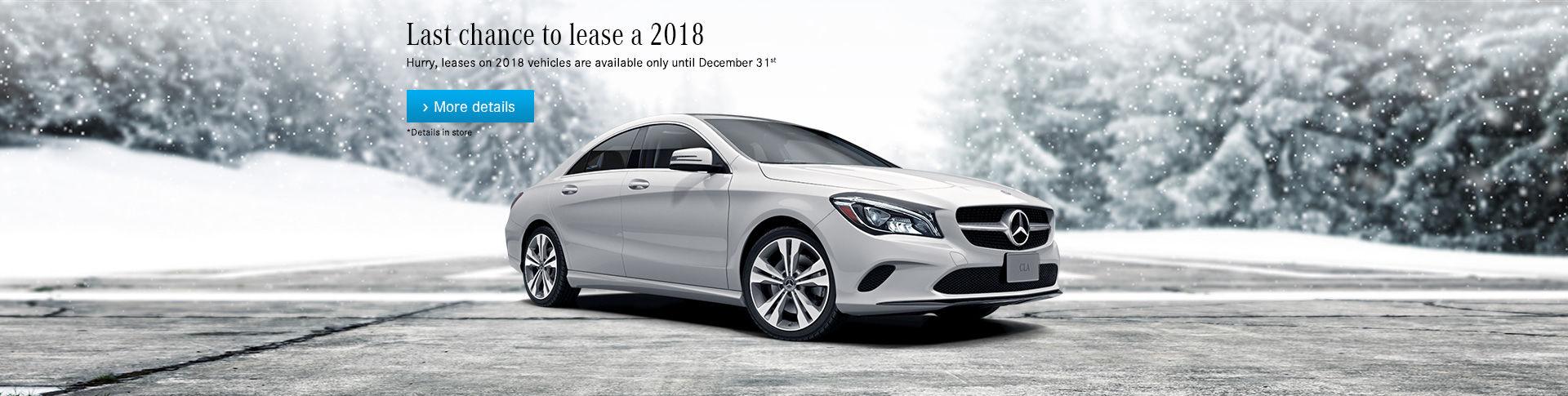 2018 Vehicle Lease