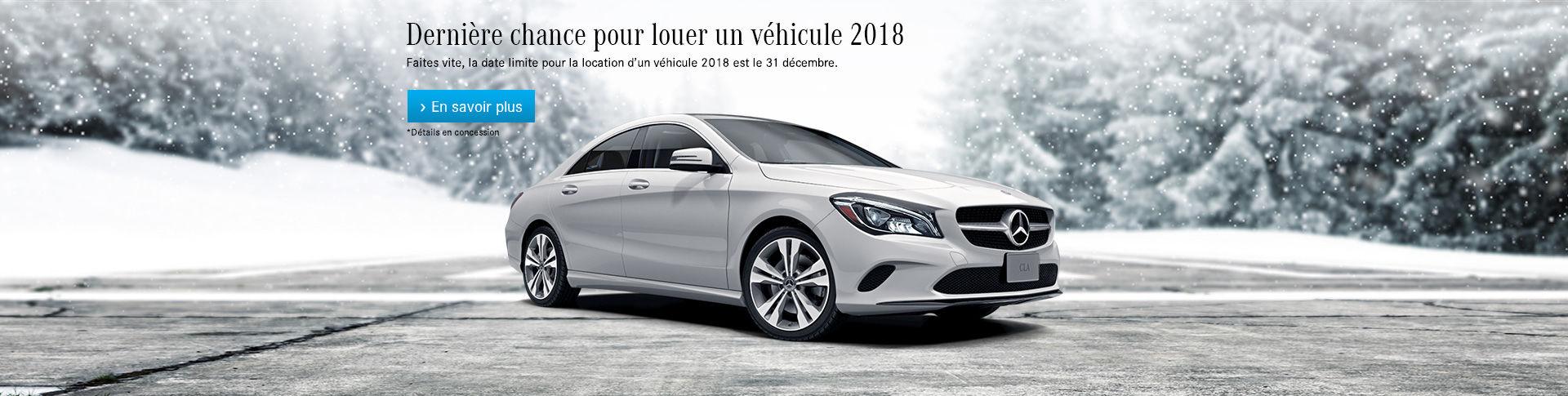 Location véhicule 2018