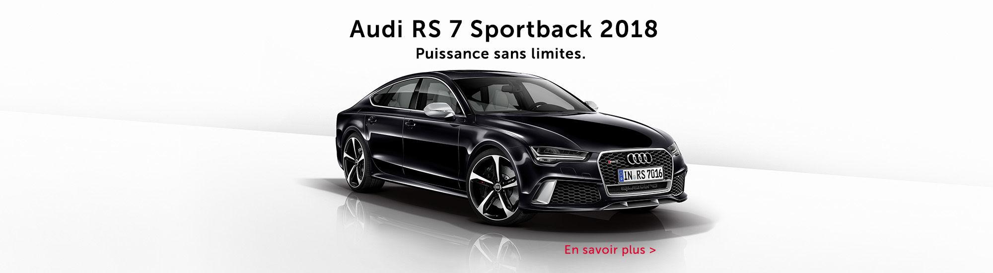 Audi RS7 sporstback 2018