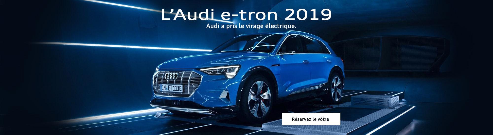 L'Audi e-tron 2019