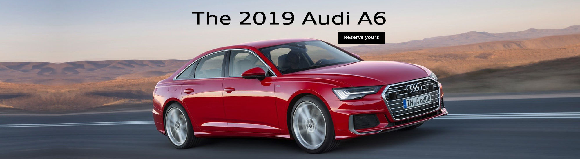 The 2019 Audi A6
