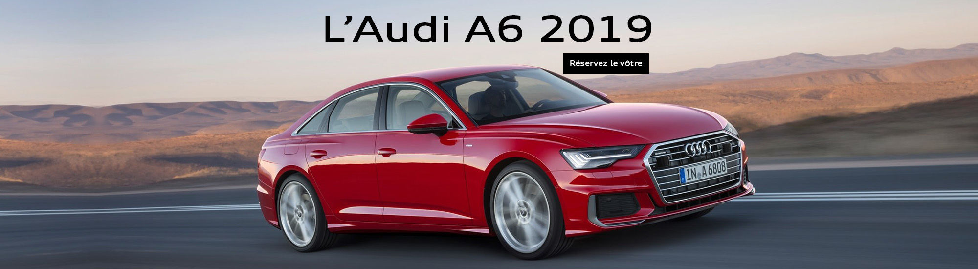 L'Audi A6 2019