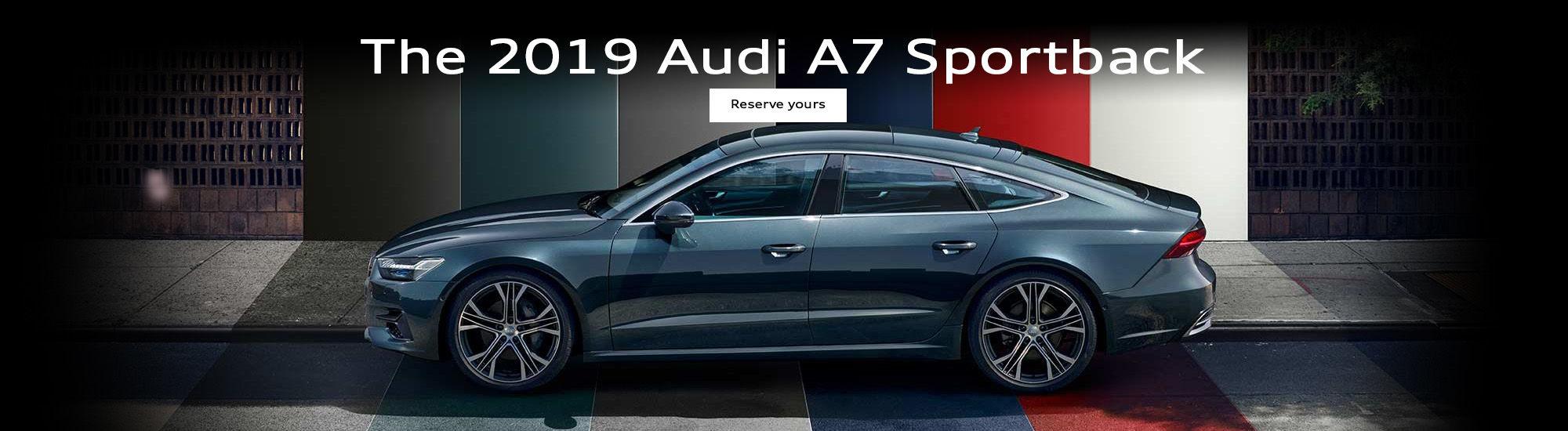 The 2019 Audi A7 Sportback