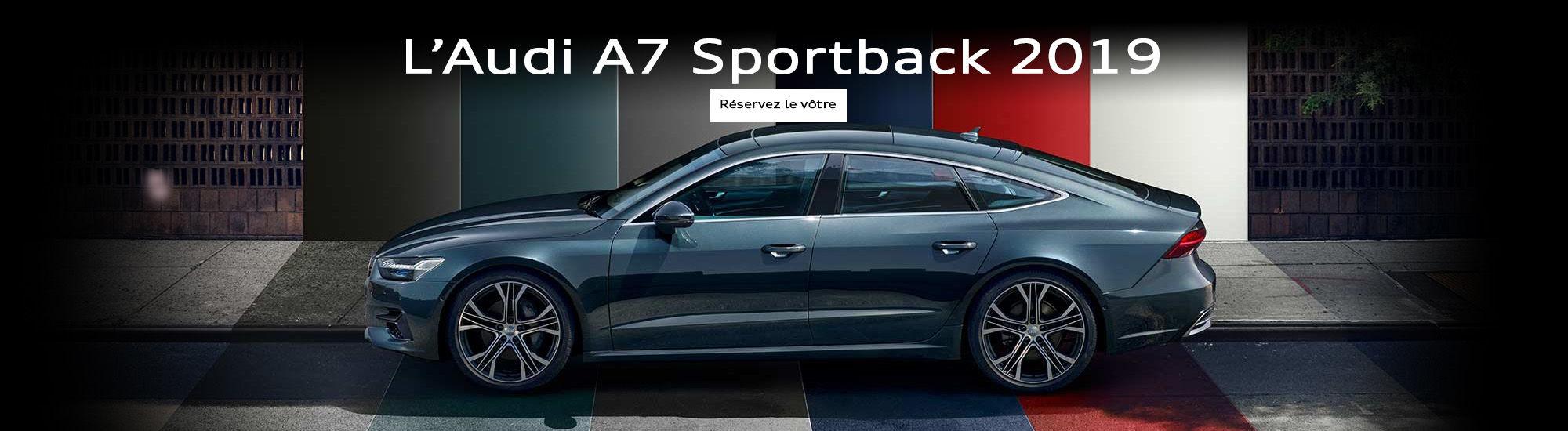 L'Audi A7 sportback 2019