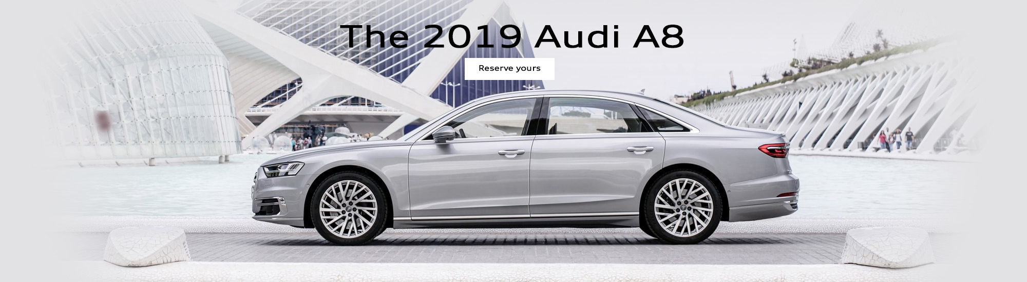 The 2019 Audi A8