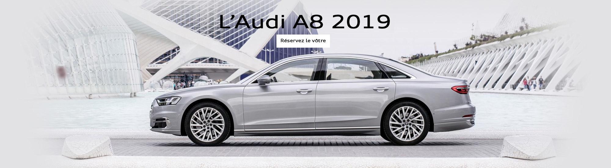 L'Audi A8 2019