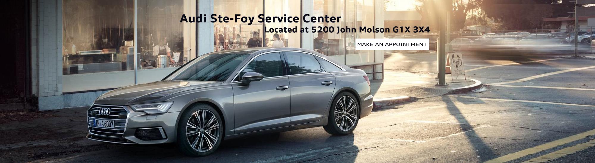 Audi Ste-Foy Service Center