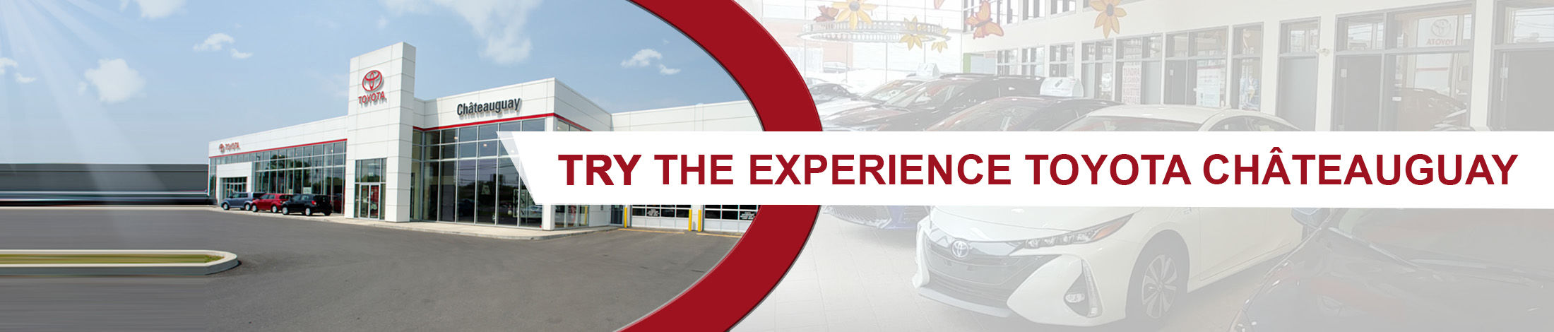 Try the experience Toyota Châteuguay