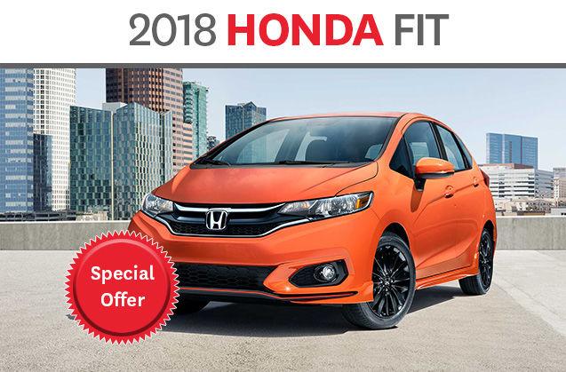 2018 honda fit deragon honda promotion in cowansville for Honda fit deals