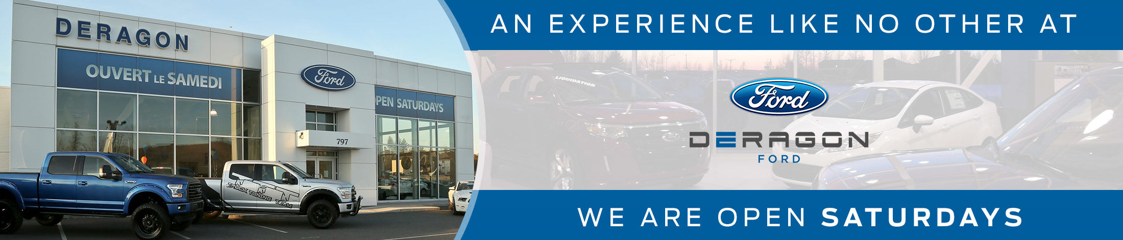 Ford dealership in Cowansville | Deragon Ford