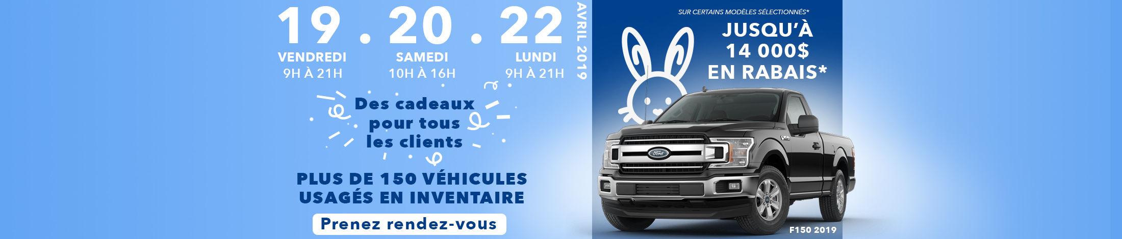 Promo Pâques Ford
