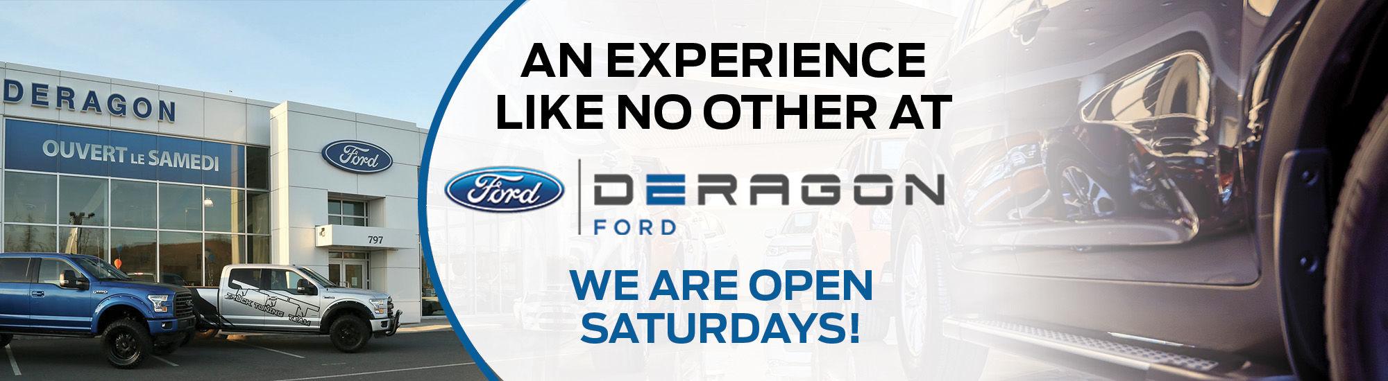 Deragon Ford Ford Dealer In Cowansville