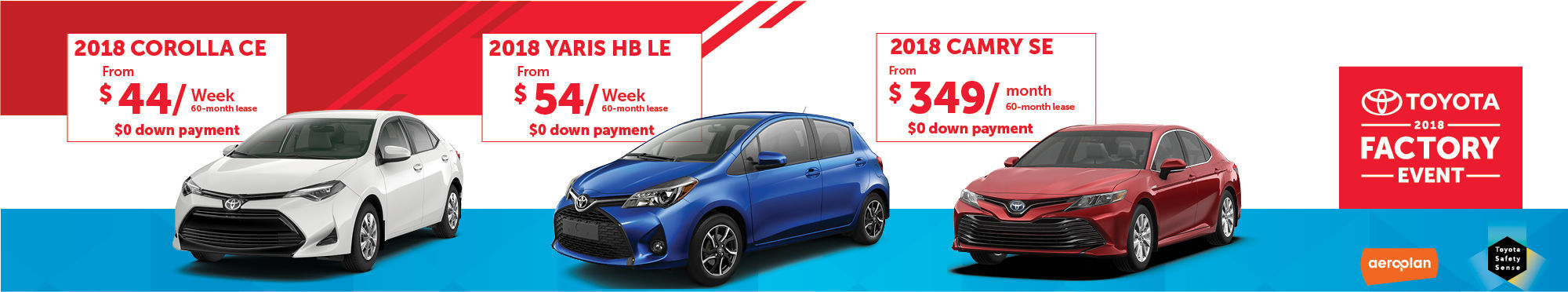 3 cars promotion 2018