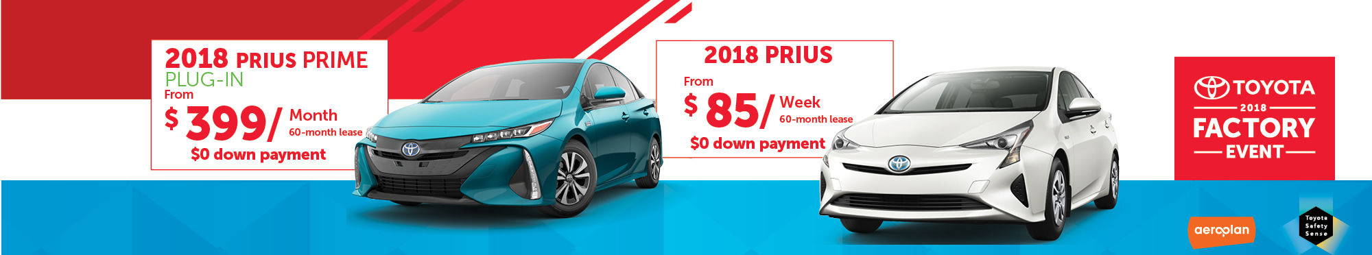 promotion prius and prime 2018