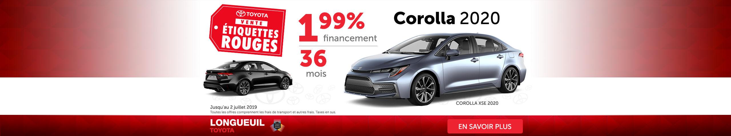 Corolla XSE 2020