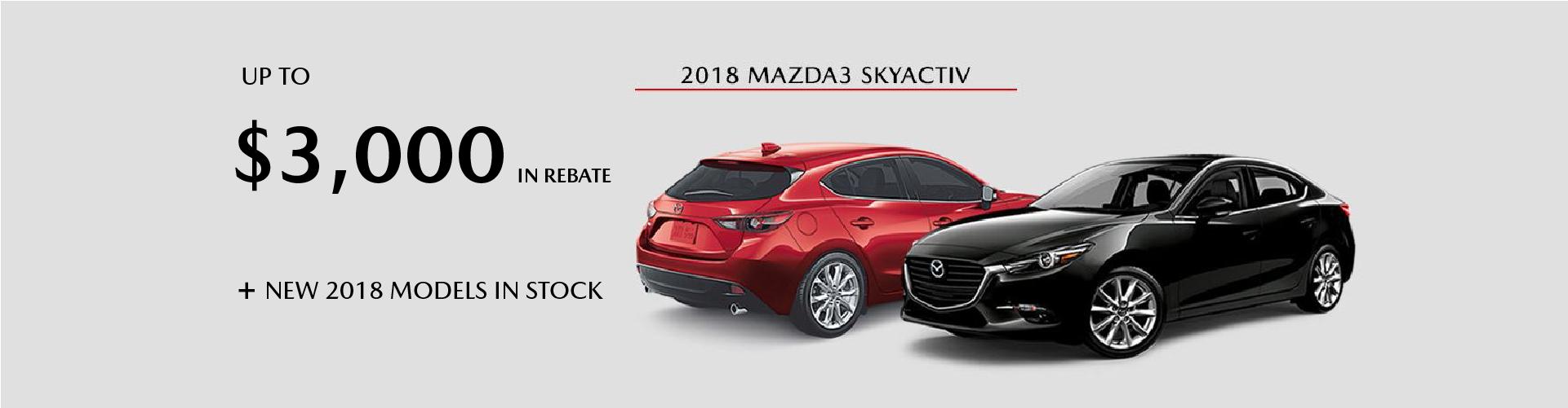 2018 Mazda3 Skyactiv