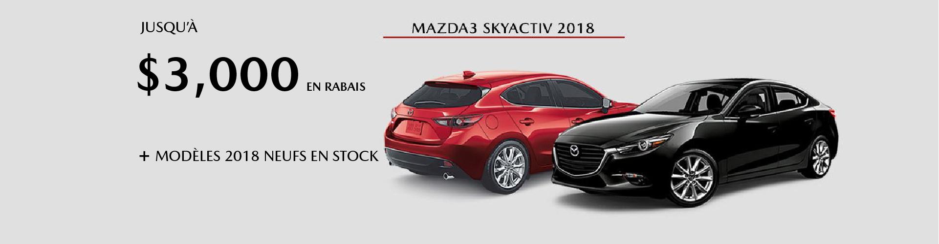 Mazda3 Skyactiv 2018