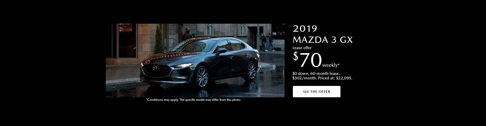 Mazda 3 incentive June