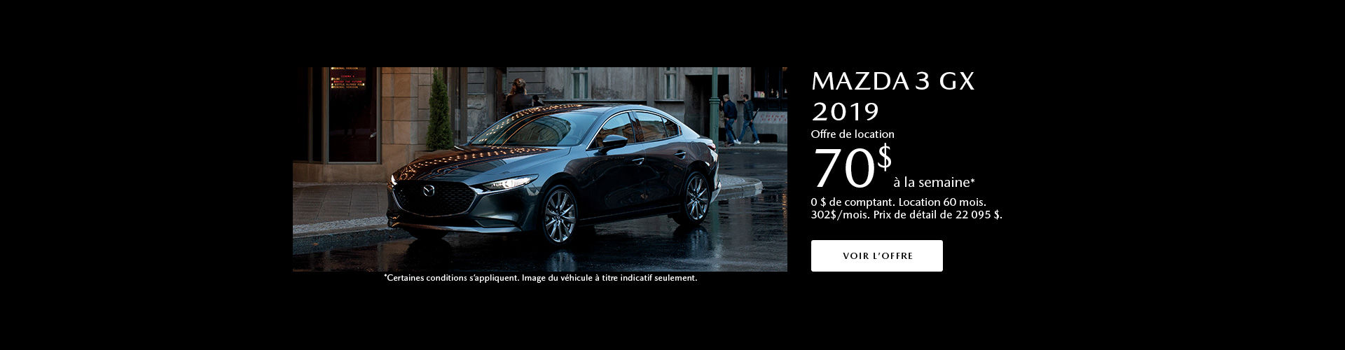 Mazda 3 promotion juin