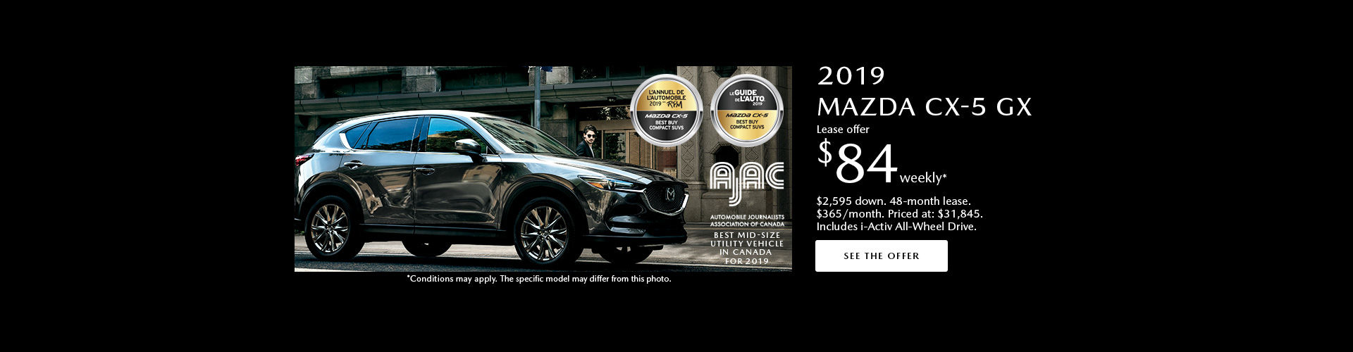 Mazda CX-5 Incentive June
