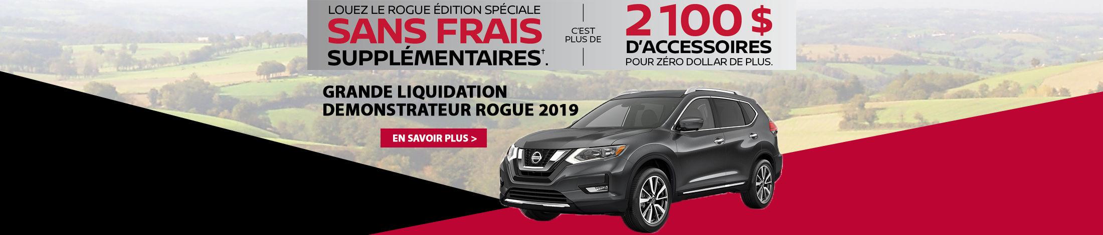 Liquidation Rogue 2019