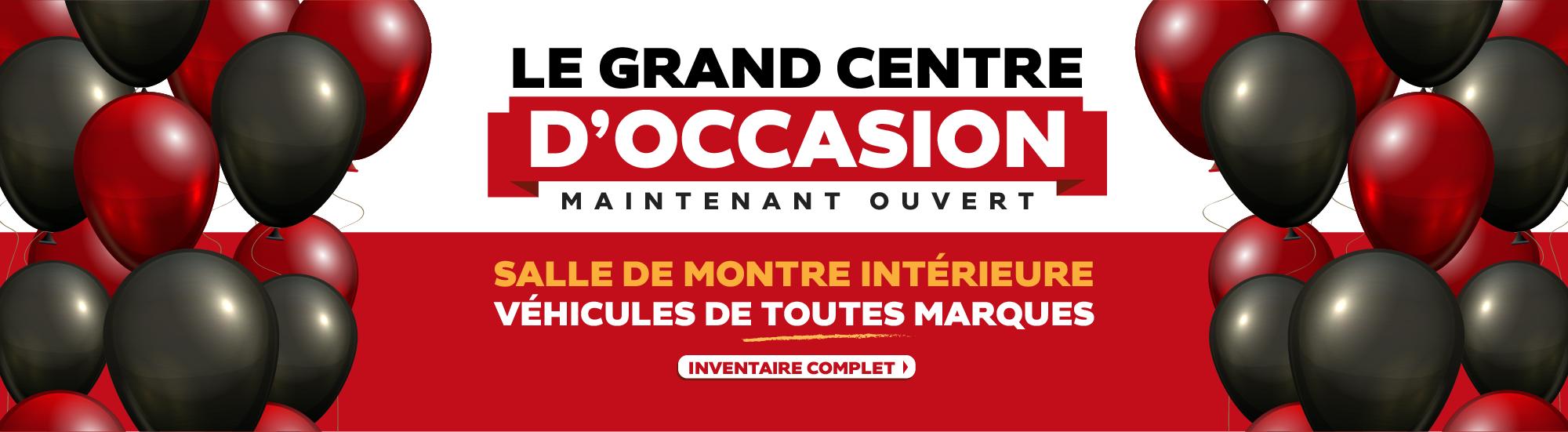 GRAND CENTRE D'OCCASION