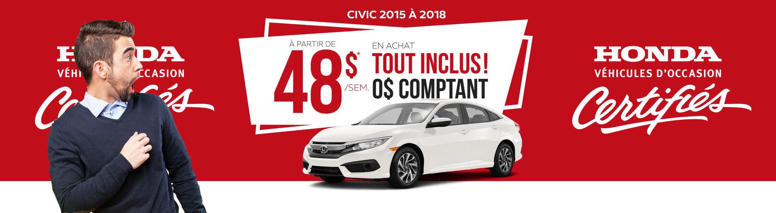 Civic 2015-2017 48$