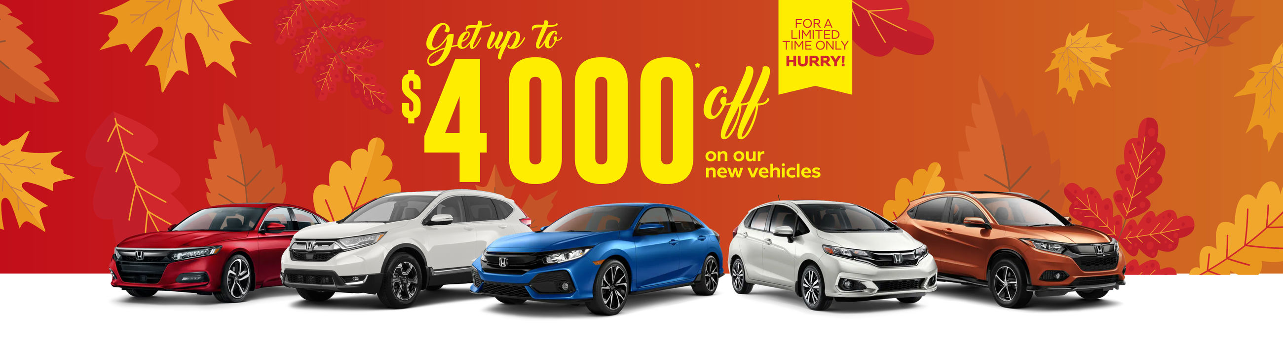 Up to $4000 off (new)