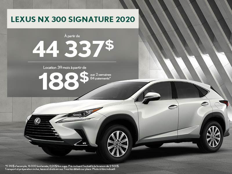 NX 2020 - Promotion sept