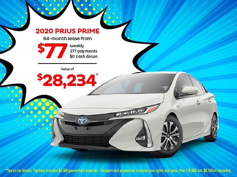 Prius Prime Lease >> Boulevard Toyota In Quebec Prius Prime Nov 2020 Promo