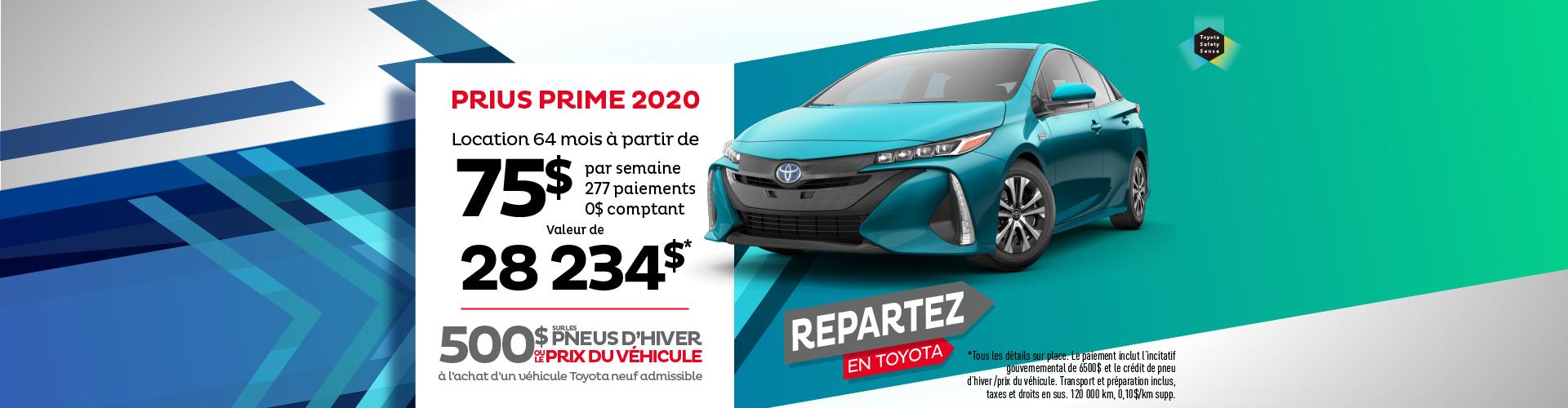 Prius Prime - sept 2020
