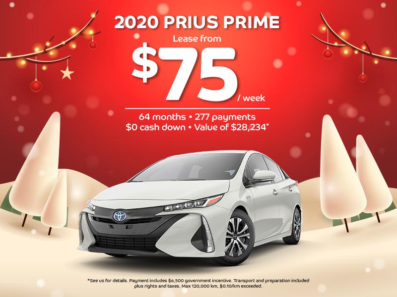 Prius Prime Lease >> Boulevard Toyota In Quebec 2020 Prius Prime Toyota