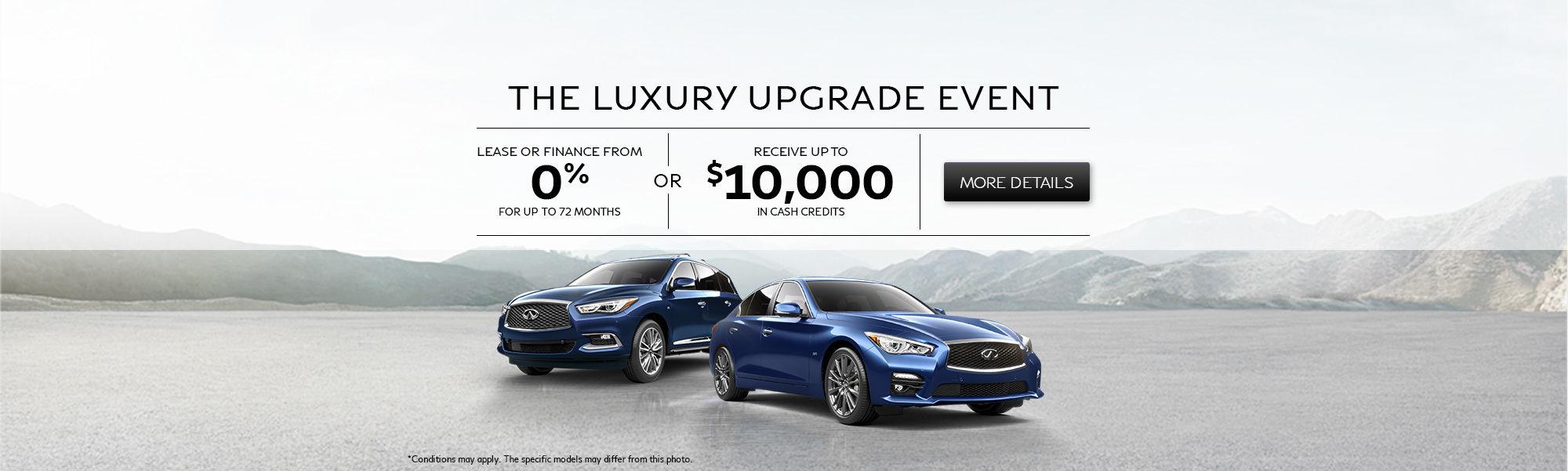 The Luxury Upgrade Event