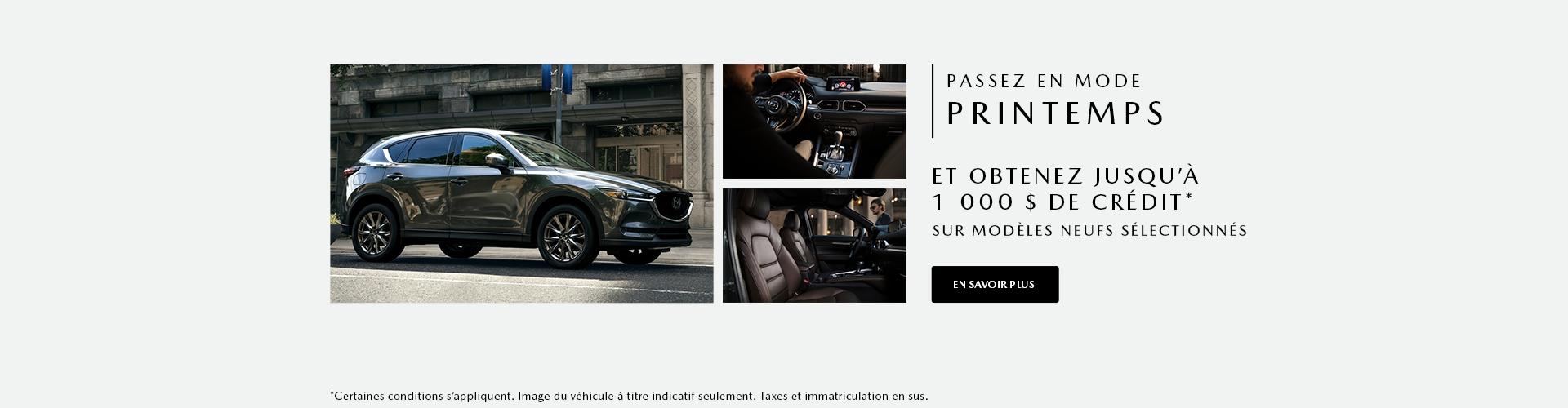Passez en mode printemps - Mazda headers