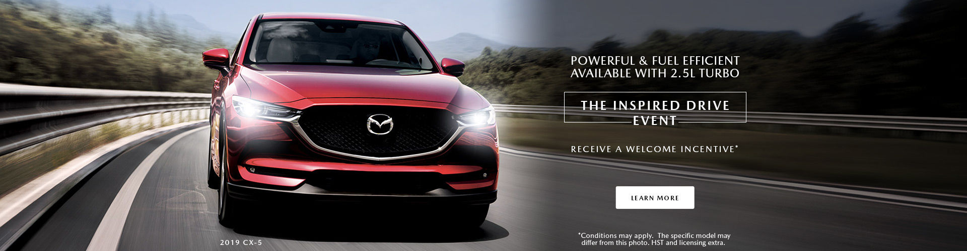 The inspired drive event - Mazda