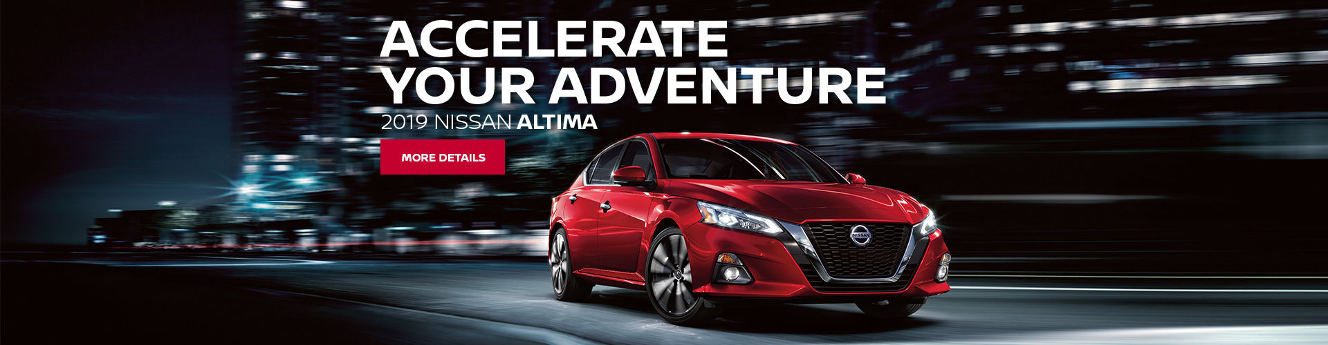 Accelerate your Adventure - 2019 Altima