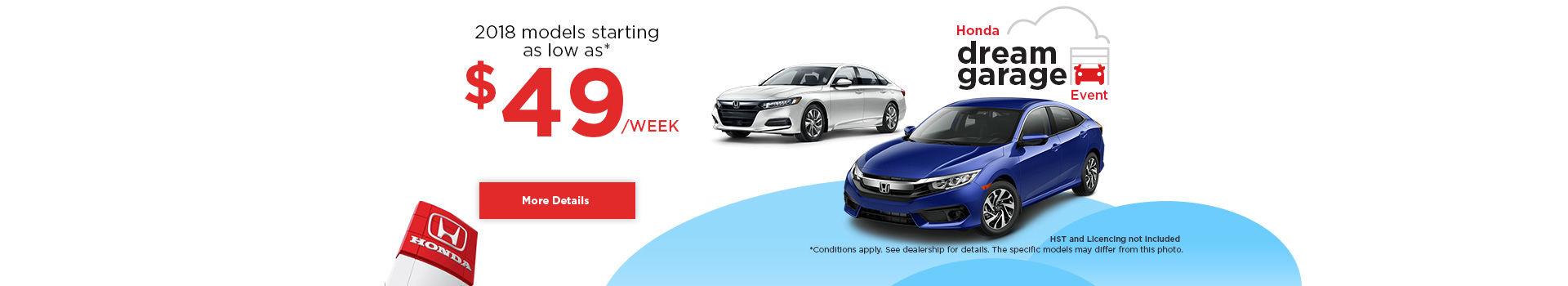 Honda Dream Garage Event !