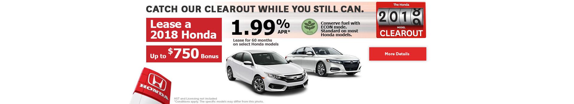 Honda Monthly Event!