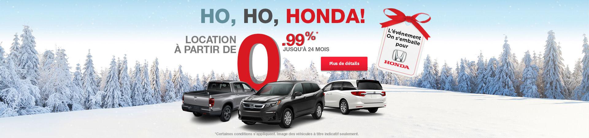 Evénement Honda - Header