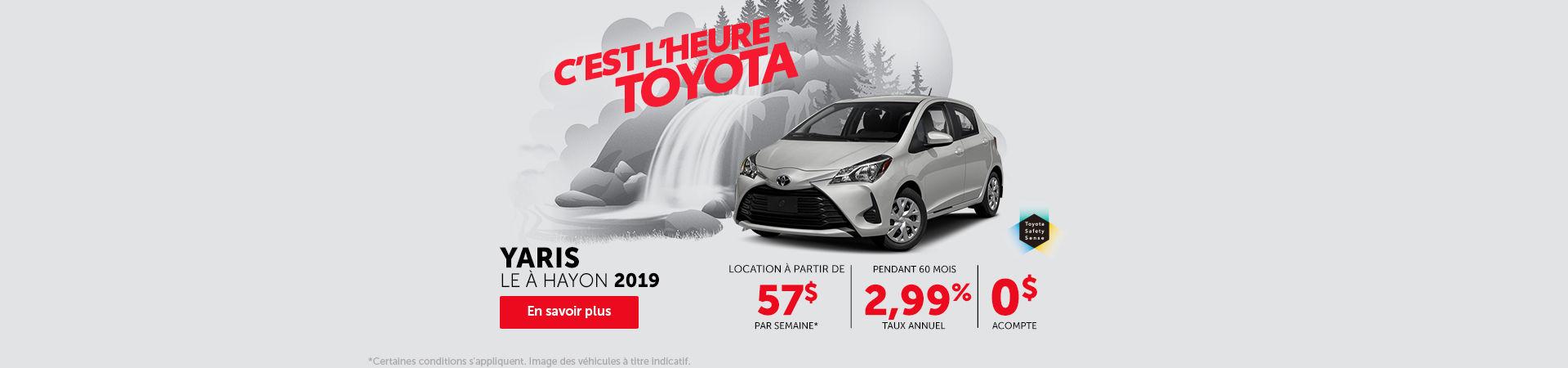 Toyota Yaris Sedan - Headers