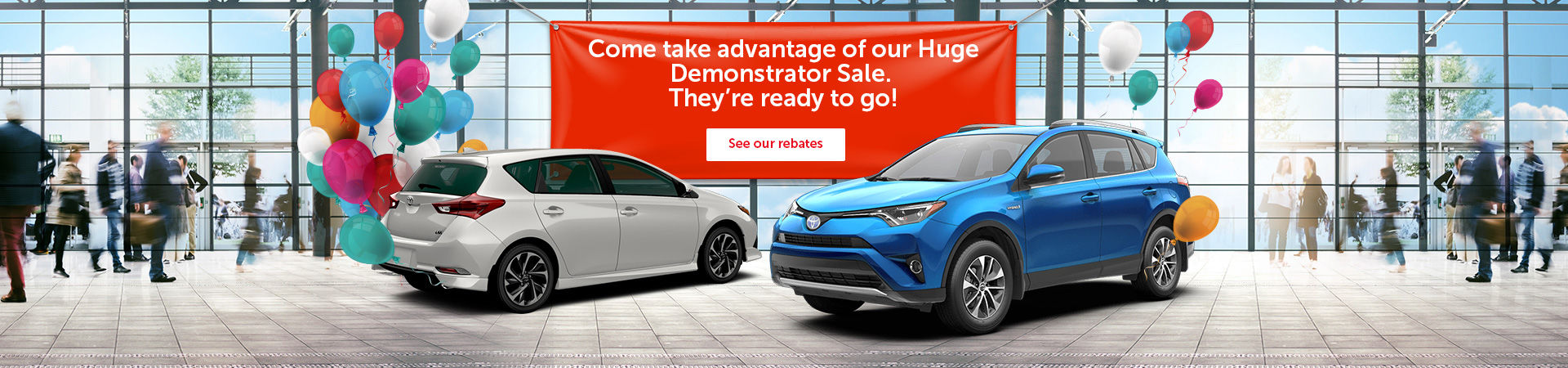 Huge Demonstrator Sale