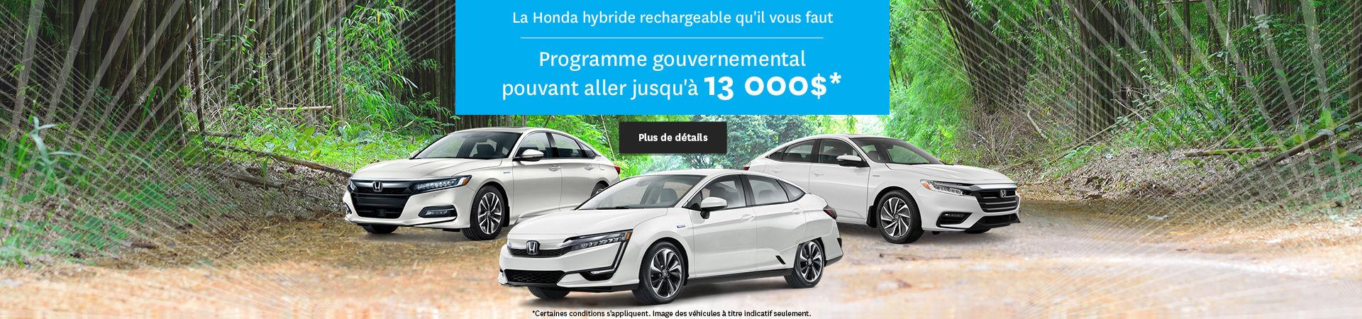 La Honda hybride ou branchable qu'il vous faut