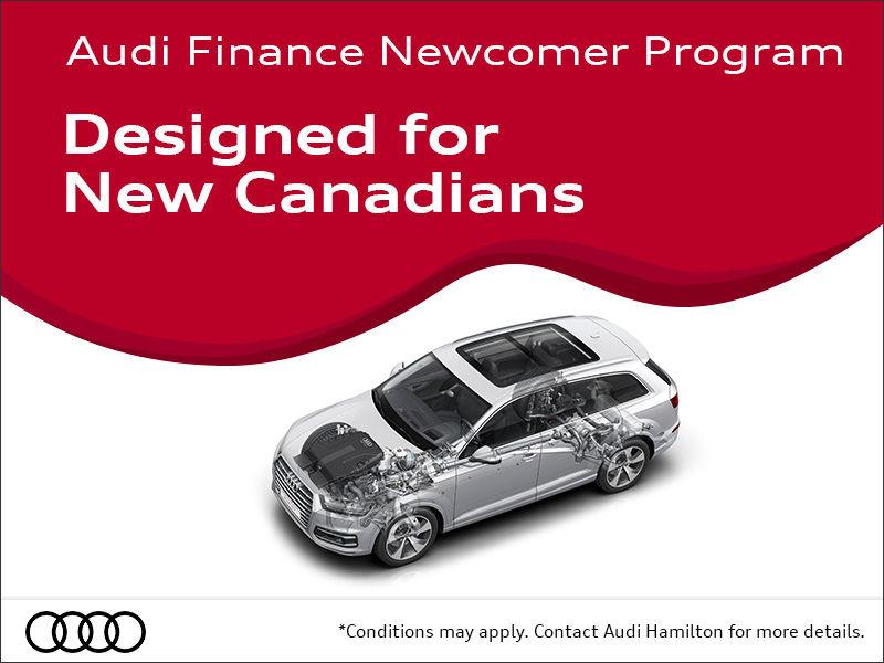Audi Hamilton Audi Finance Newcomer Program