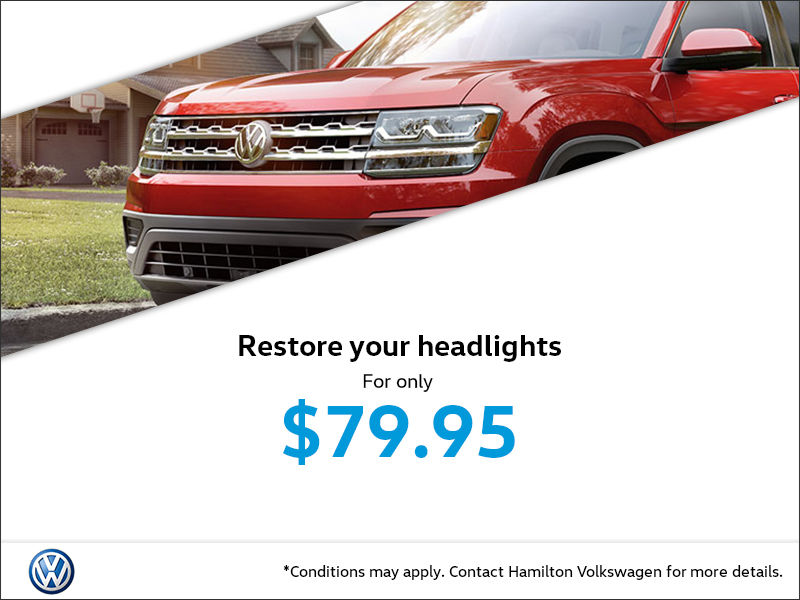 Headlight Restoration Special
