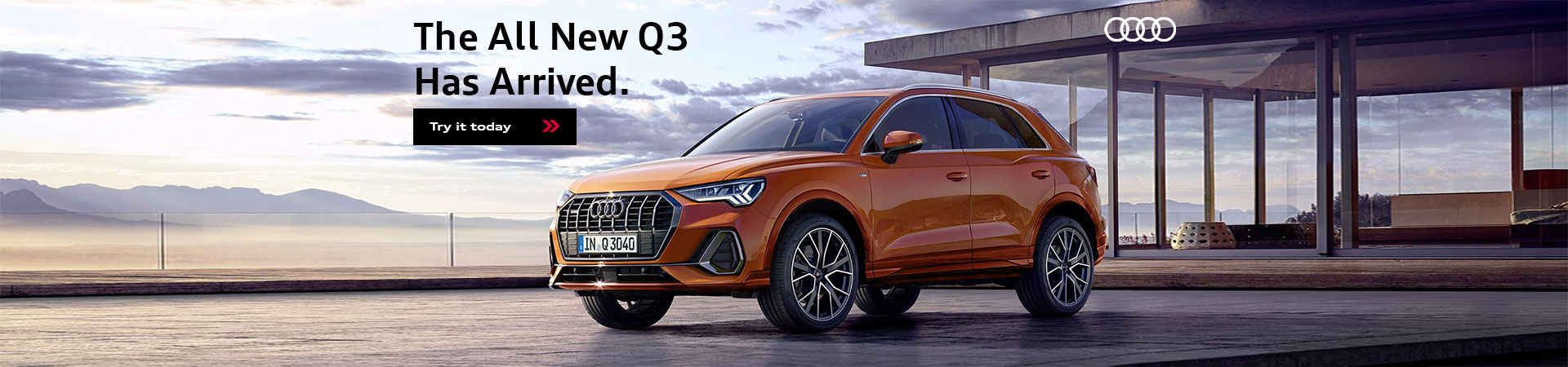 All New Audi Q3 Has Arrived