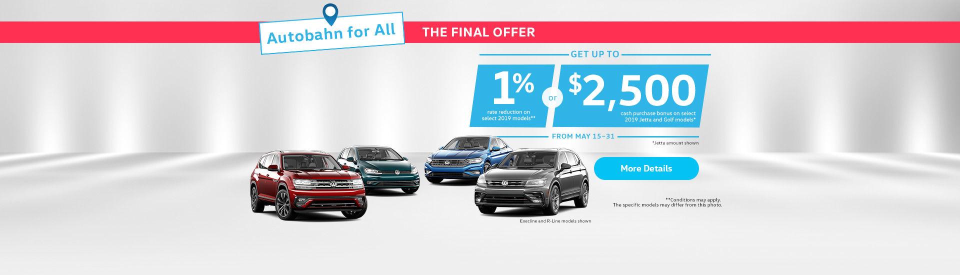 VW Event short sale