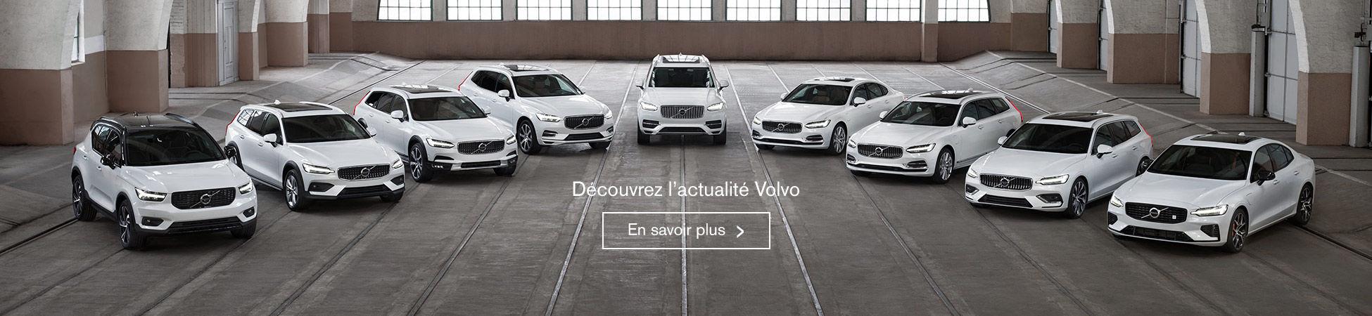 Découvrez l'actualité Volvo
